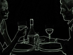 Dinner in the Dark in Rostock