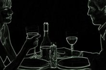 Dinner in the Dark in Wetzlar
